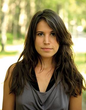Vea Kaiser, geboren 1988, österreichische Schriftstellerin.  Vea Kaiser, born 1988, Austrian novelist.